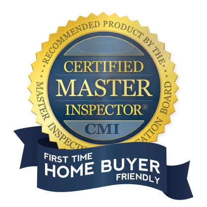 Certified Master Inspector CMI First Time Home Buyer Friendly Logo